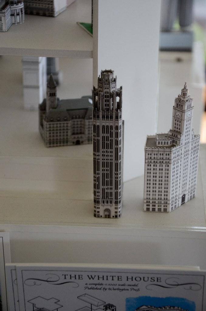 Papercraft buildings   Dan Colomb   Flickr