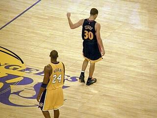Kobe Bryant and Stephen Curry | by MattBritt00