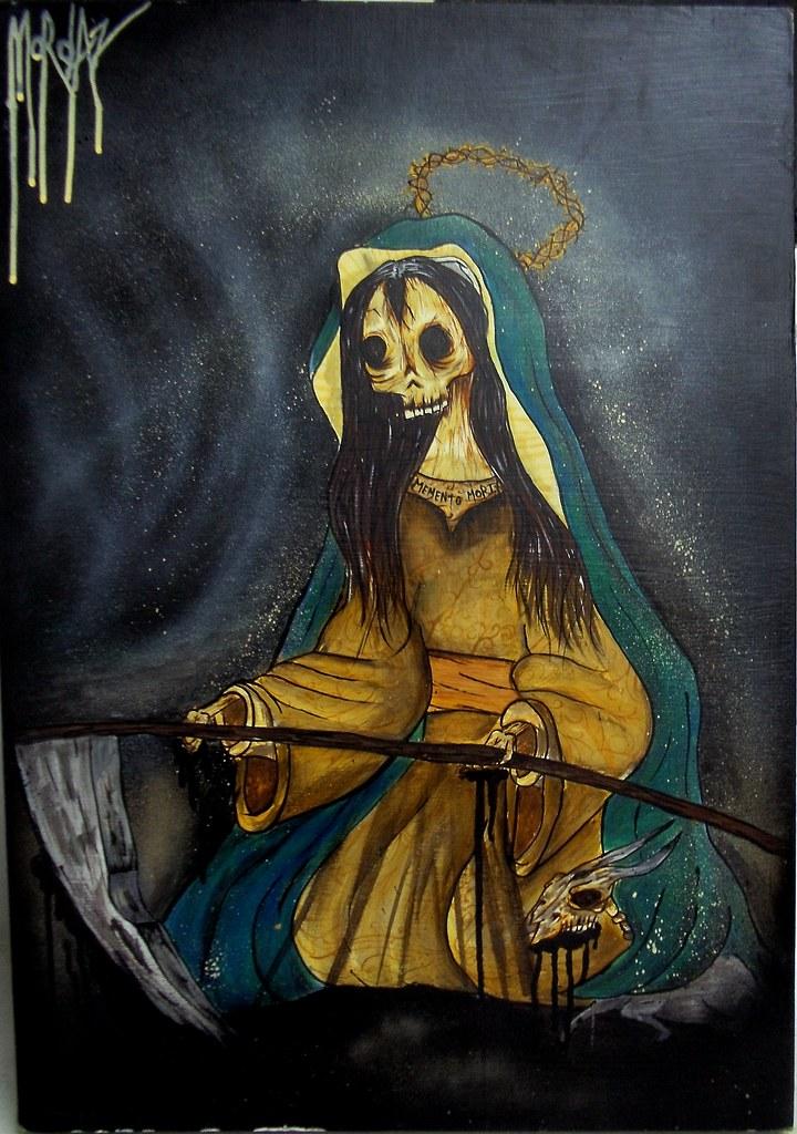 MEMENTO MORI-   Tus Santas Muertes hoy brujerizmo pa ti sat