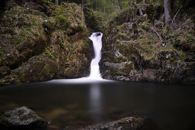 cascade du Saut de la truite (plancher les mines)