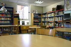 La biblioteca por dentro. Sala de niños