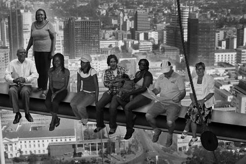 Family portrait atop a skyscraper | by Robbert van der Steeg