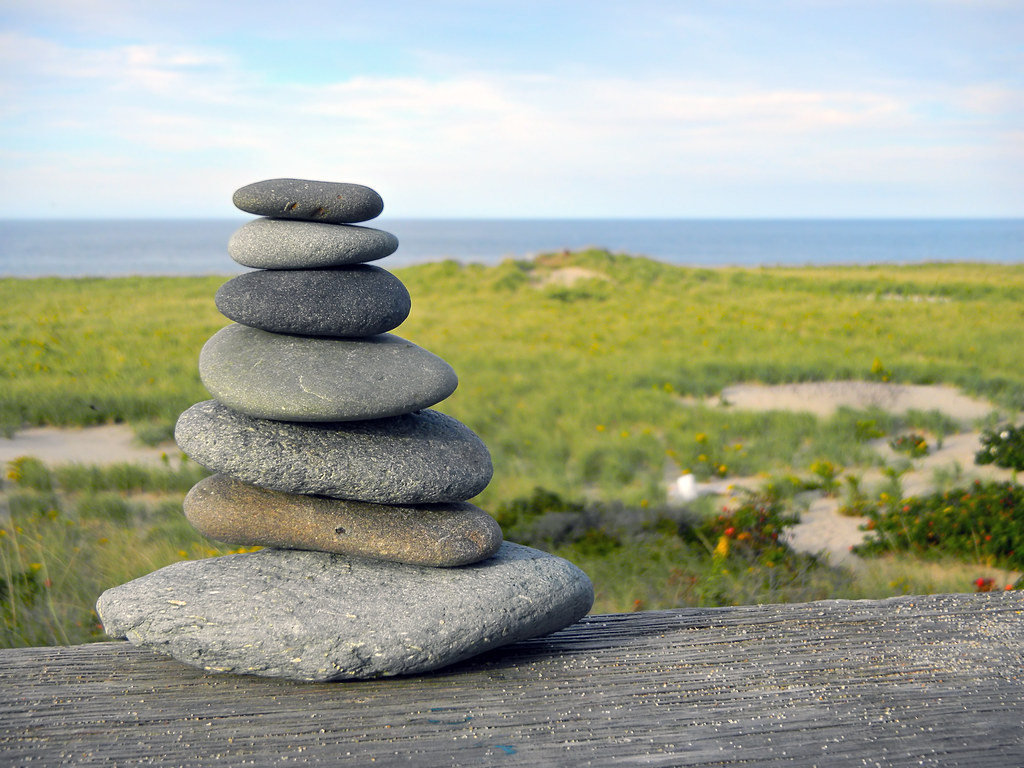 Beach Rock Cairn Provincetown Cape Cod C Christopher Seuf Flickr