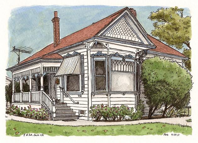 nice house on 3rd and E