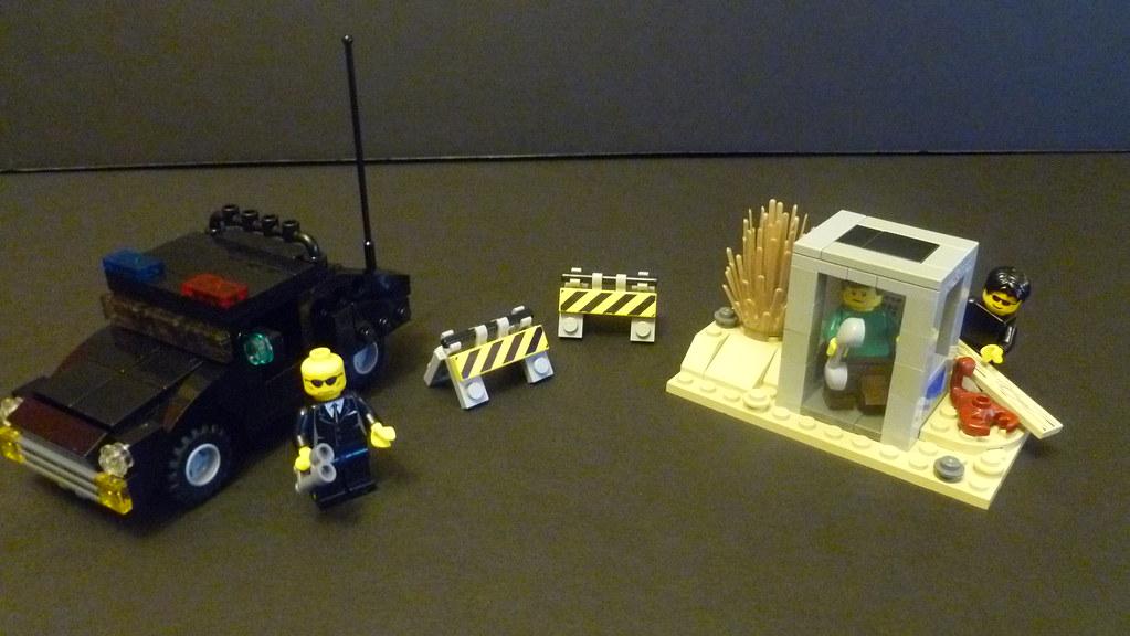 Art Bell Lego Mib Coming For Frantic Area 51 Caller Flickr