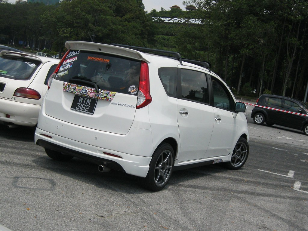 Perodua alza modified sticker bomb by new chapter iii