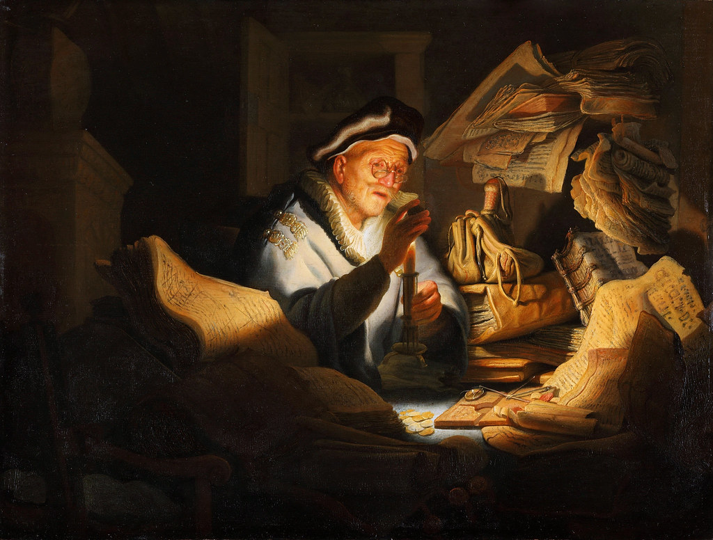 "Saskia and Rembrandt in the the scene of ""The Prodigal Son in the Tavern"" 1635"