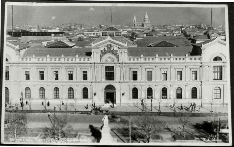 La casa Central de la Universidad de Chile