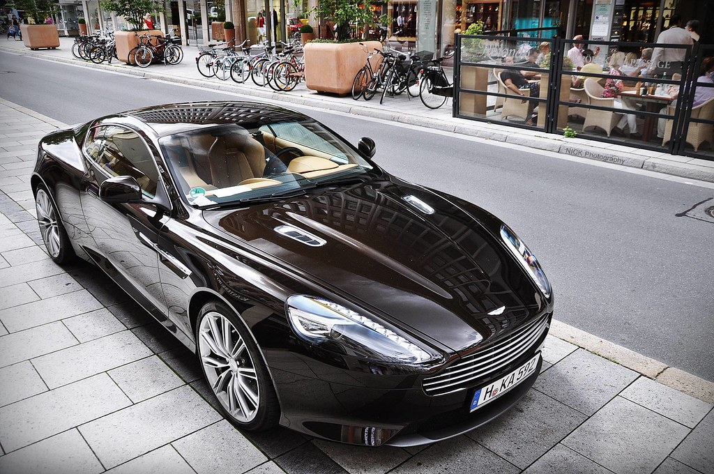 Aston Martin Virage 2011 In My Opinion The Best Colour For Flickr
