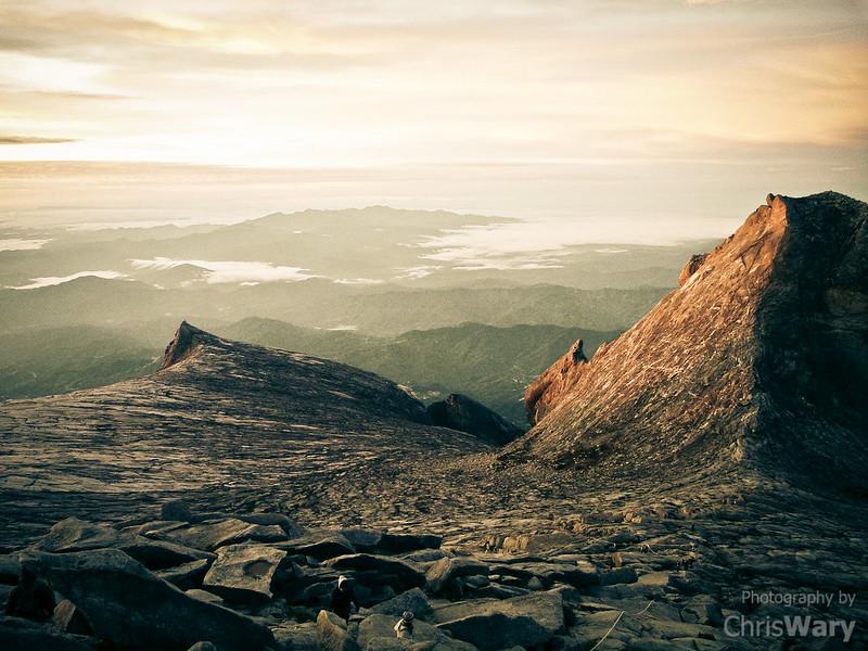 Sunrise at 13,435 feet