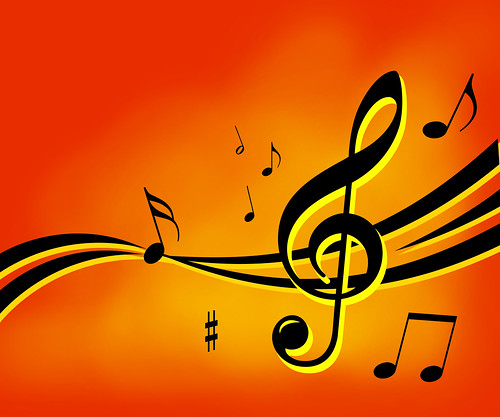 music notes background | by thisisanexample