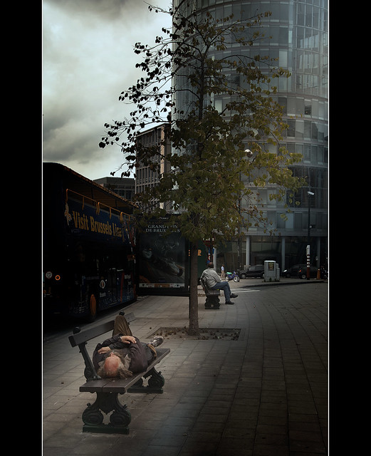 Bruxelles - contrasti