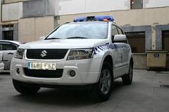 Nuevo coche de la policía municipal adquirido a la empresa Quick Rent en modalidad de renting