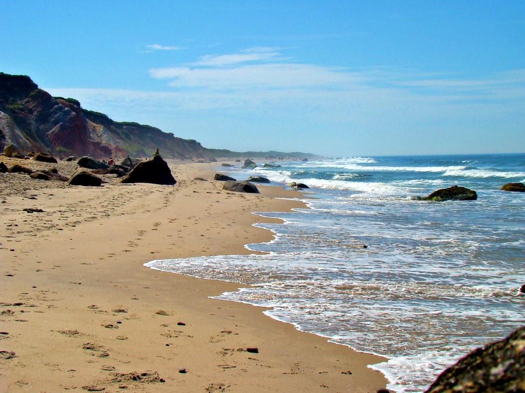 Marthas Vineyard - Moshup and Aquinnah Beaches by Brendan