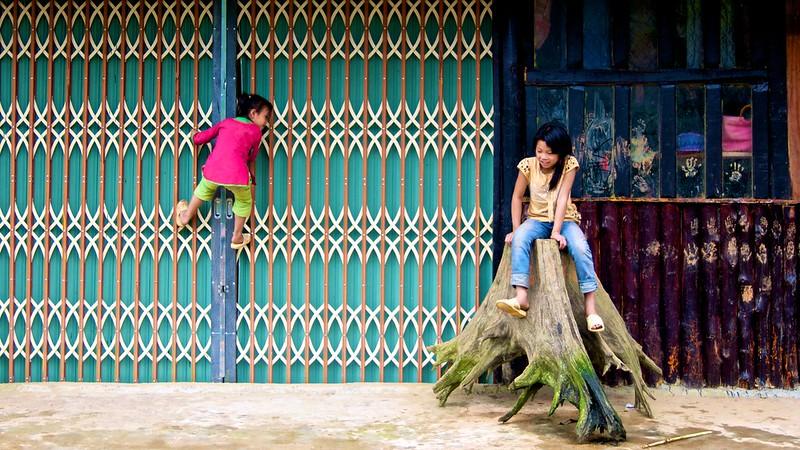Sa Pa Village playground