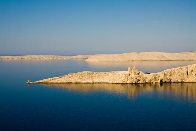 The barren island