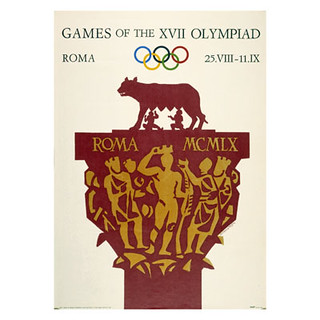 Roma 1960 Olympic poster