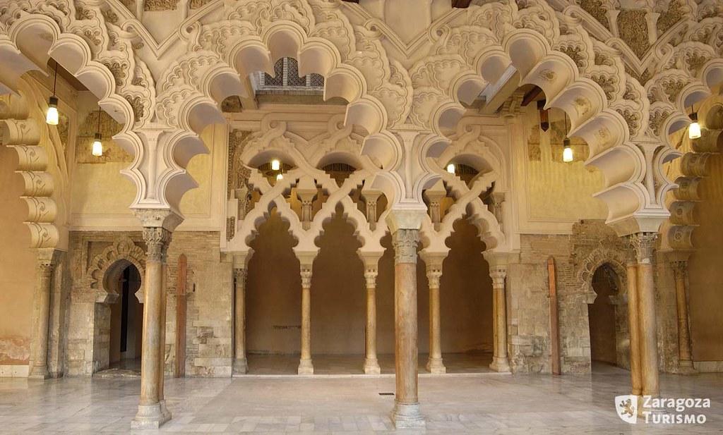 نتيجة بحث الصور عن Palacio de la Aljafería