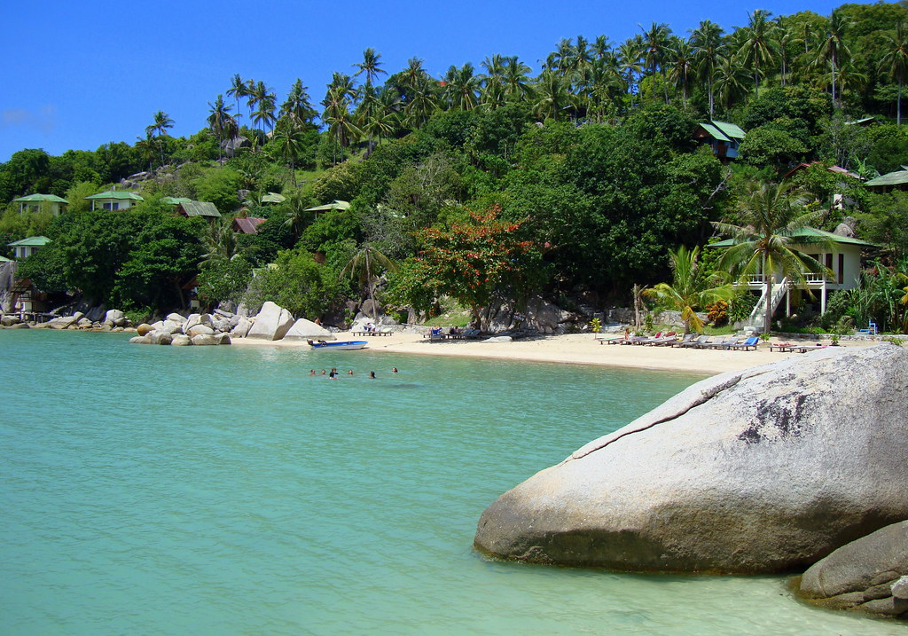 Freedom Beach Koh Tao Cyberian8 Flickr