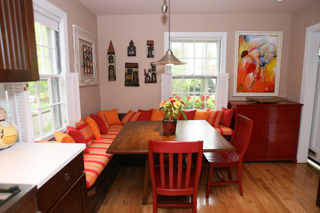 Kitchen Banquette Seating / Kitchen Booth Seating - Washin ...