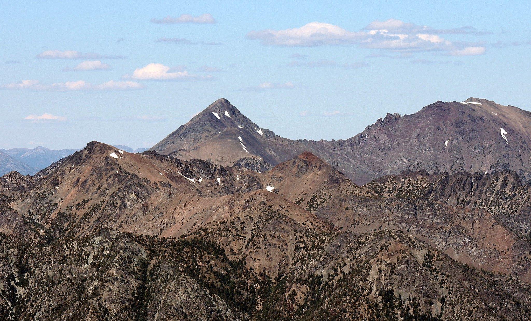 Abernathy Peak of Twisp Slam and Gardner Mountains