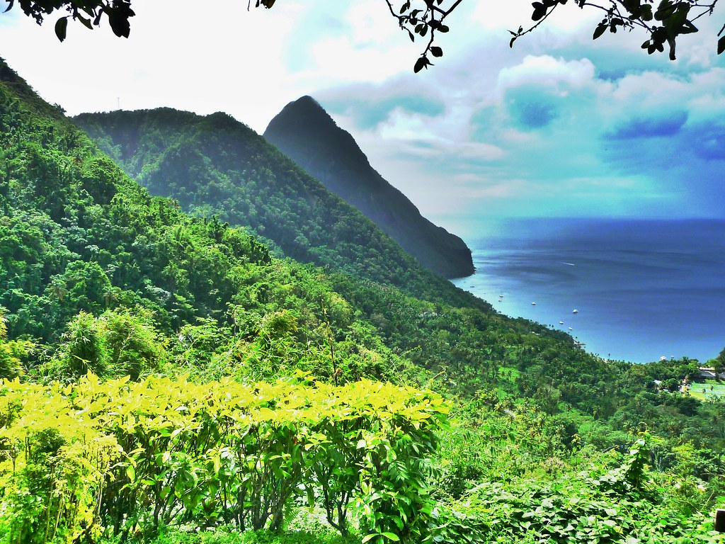 Piton, St.Lucia [HDR] | St. Lucia - Caribbean 2011 | Flickr