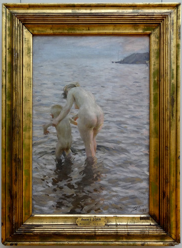 Anders Zorn - Mother & child (1895)   by jimforest