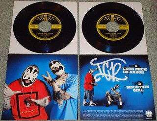 "Insane Clown Posse / Mozart / Jack White - Leck Mich Im Arsch 7"" Vinyl (2011)"