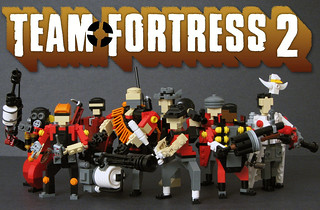 Team Fortress 2 - Red Team | by Pepa Quin