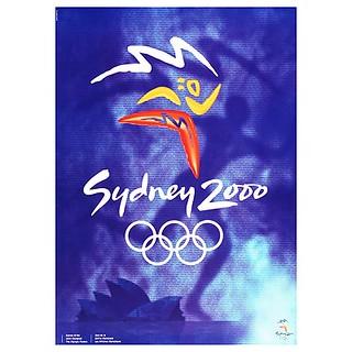 Sydney 2000 Olympic poster