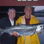 Mel Barbee and Kurt Wade- 25lbs Chinook- Group 10