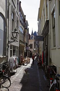 Aangenaam shoppen in een historische binnenstad