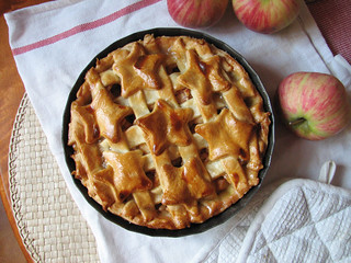homemade American apple pie   by invisible_helicopter