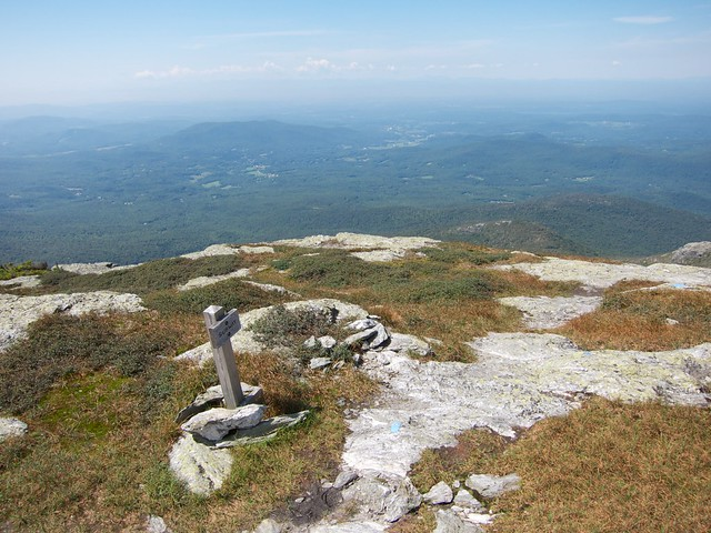 2:20:25 (54%): sign vermont hiking mtmansfield greenmountains longtrail