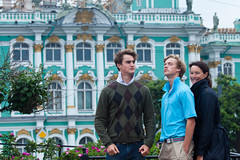 In Front of the Winter Palace