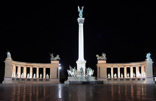 Hősök tere - Heroes' Square Budapest