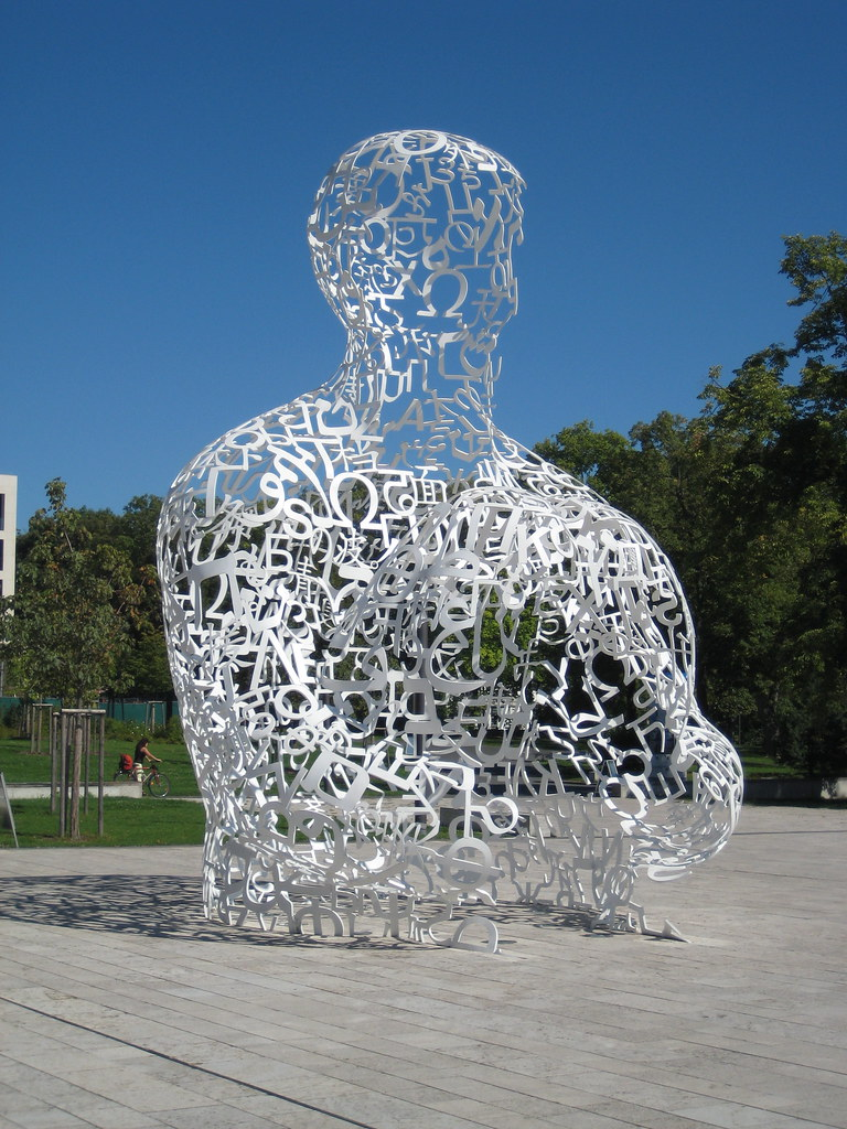 Body Of Knowledge Frankfurt University A Sculpture By Spa Flickr