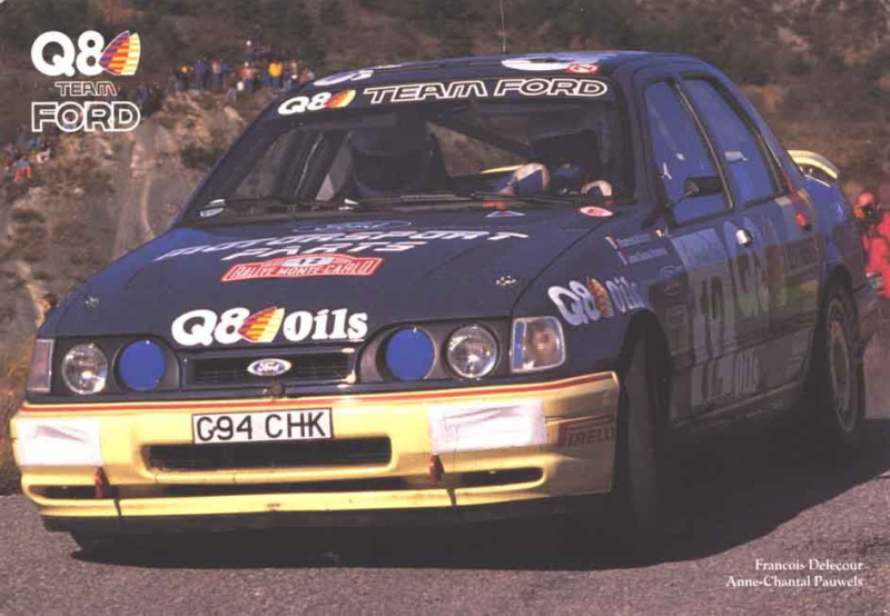 Ford Sierra RS Cosworth 4x4 – Montecarlo 1991
