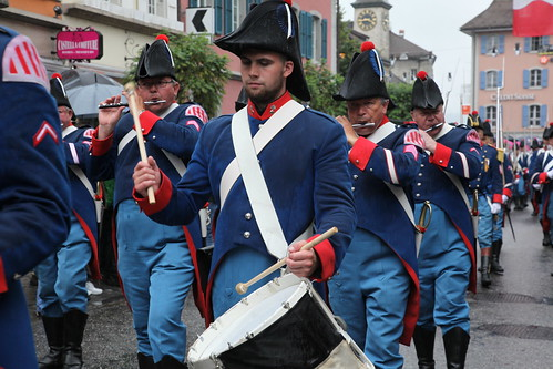 Fête fédérale des sonneurs de cloches - Scheller und Trychler - Cortège du 4 septembre 2011 à Bulle | by Pierre Schwaller (lyoba.ch)