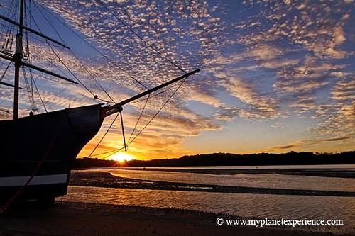 New Zealand experience : Paiha sunset