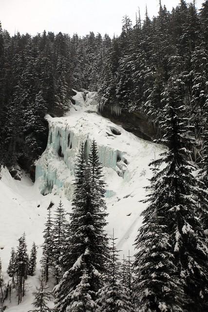 Frozen River, BC Canada