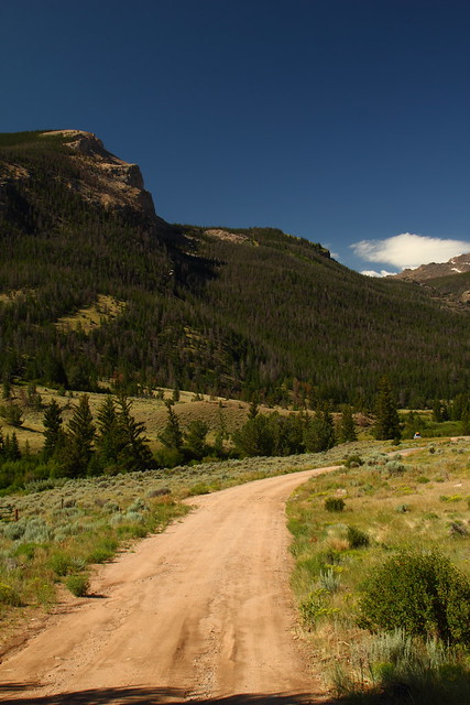 Road to Whiskey Mountain - near Dubois, Wyoming