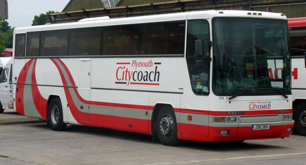 Plymouth Citybus 312 JSK265