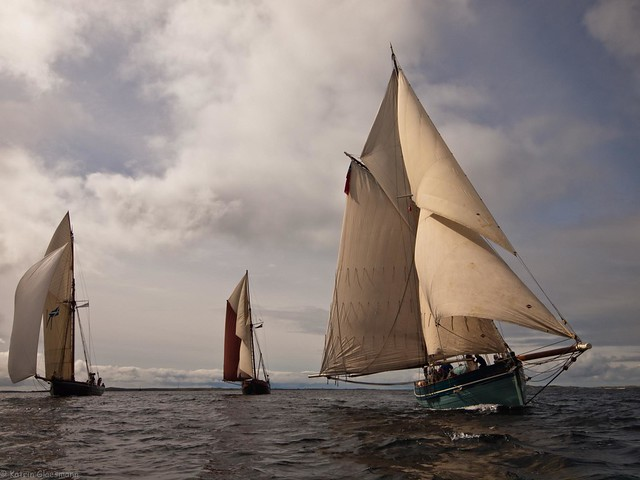 Sailing in company