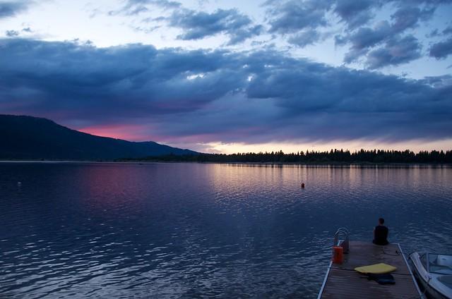 Sunset Lake Cascade 8-14-2011 10