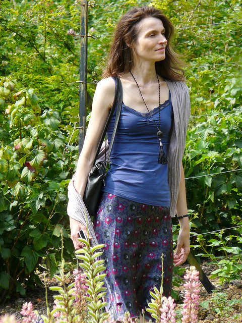 Mariëlle, Cotswolds 2011: Tall lady