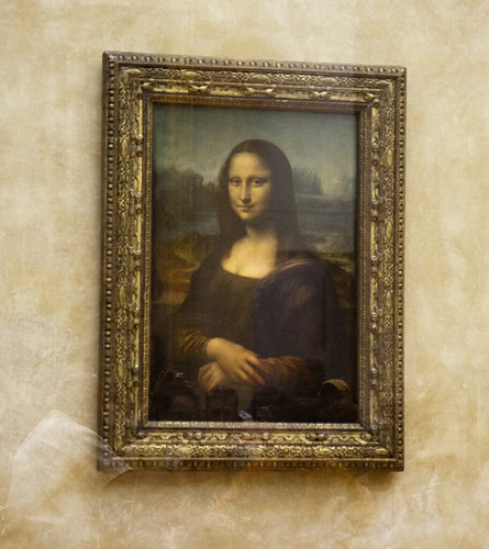 Mona Lisa at the Musée du Louvre | by San Diego Shooter