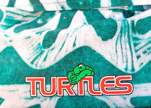 XIVème Jeux du Pacifique, TURTLES, Cook Islands logo