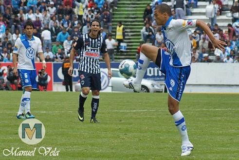 DSC00478 Puebla FC vs Rayados de Monterrey empataron a tres goles en espectacular partido en el estadio Cuauhtémoc por LAE Manuel Vela