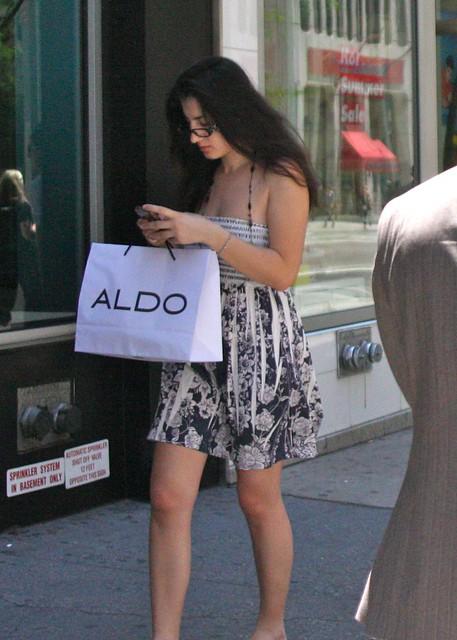The Aldo Woman, New York Summer 2011